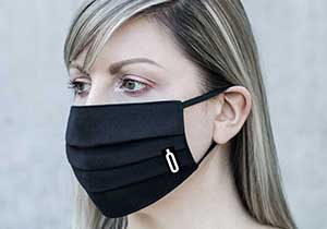Face Masks, Logo Embroidery On Demand